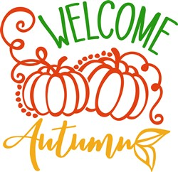 Welcome Autumn print art