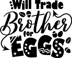 Brother For Eggs print art