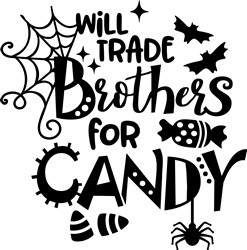 Brothers For Candy print art