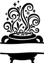 Cauldron Namedrop print art