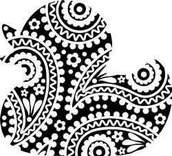 Floral Duck print art