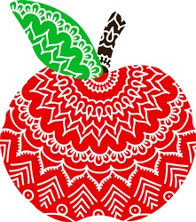 Decorative Apple print art