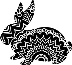 Decorative Bunny print art