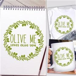 Olive Me print art