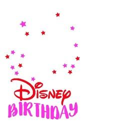 Disney Birthday print art