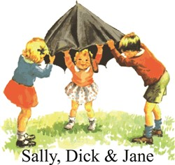 Dick jane sally sequence
