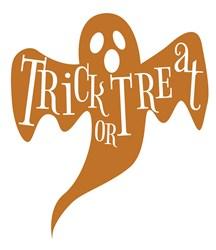 Trick Or Treat Ghost print art