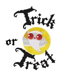 Trick Or Treat Owl print art