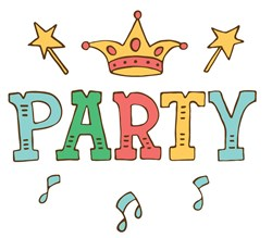 Party King print art