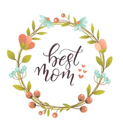 Best Mom print art