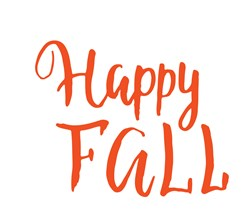 Happy Fall print art