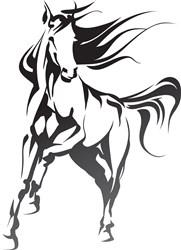 Thoroughbred Horse print art