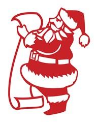 Santas List print art