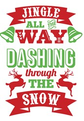 Jingle All The Way print art