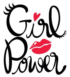 Girl Power print art