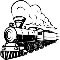 Train Engine print art