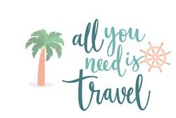 Need Travel print art