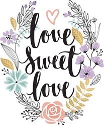 Love Sweet Love print art