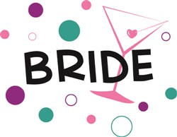 Bride print art