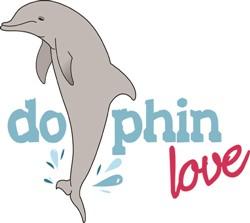 Dolphin Love print art