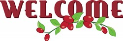 Welcome Cranberries print art