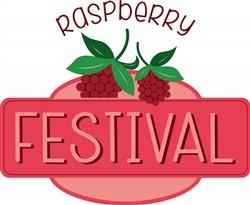 Raspberry Festival print art