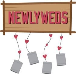 Newlyweds print art