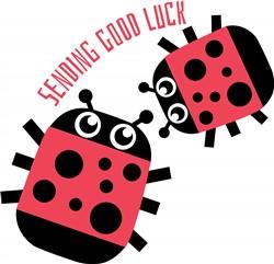 Good Luck print art