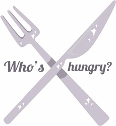 Who Is Hungry? print art