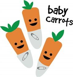 Baby Carrots print art