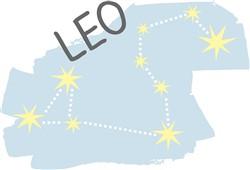 Leo Constellation print art