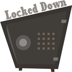 Locked Down print art