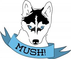 Mush Dog print art