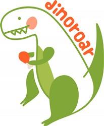 T Rex Dinosaur print art