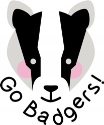 Go Badgers print art