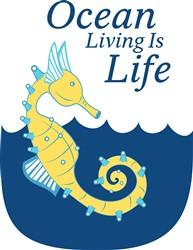 Ocean Living print art