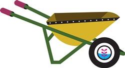 Garden Wheelbarrow print art