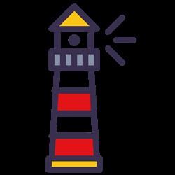 Lighthouse print art