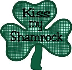 Kiss My Shamrock print art