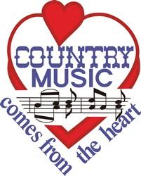 Country Music print art