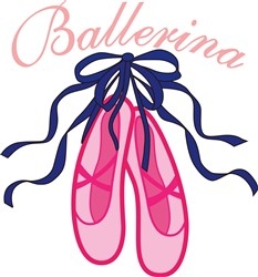 Ballerina print art