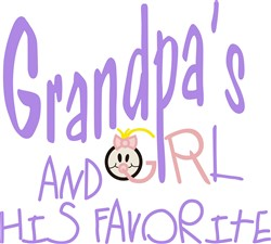 Favorite Grandchild print art