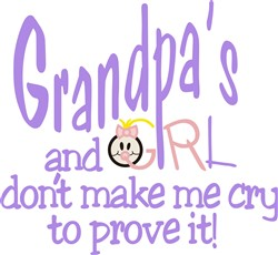 Grandpas Girl print art