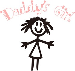 Daddys Girl print art