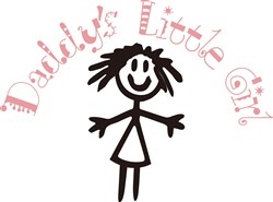 Daddys Little Girl print art