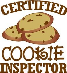 Certified Cookie Inspector print art