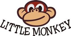 Little Monkey print art