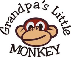 Grandpas Little Monkey print art