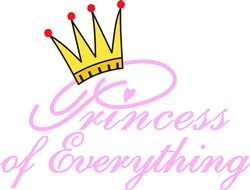 Princess of Everything print art