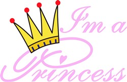 Im a Princess print art